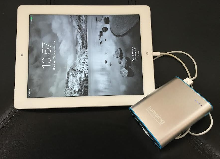 Prueba: Powerbank Lumsing Grand A2 Quick Charge
