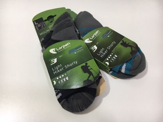 Prueba: calcetines Lorpen T3 Light Hiking Shorty
