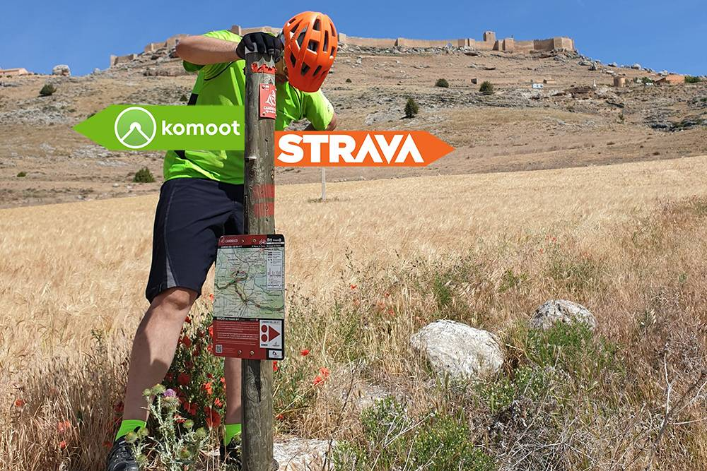 Strava Routes vs Komoot